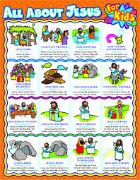 Jesus Life Timeline Chart All About Jesus For Kids Chart Timeline Of Jesus Life
