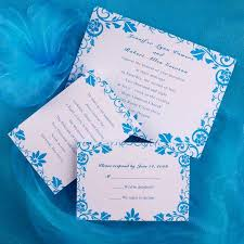 8 best blue and silver wedding images on pinterest wedding White And Blue Wedding Invitations find this pin and more on easy wedding invitations by zeedelock blue and white royal blue and white wedding invitations
