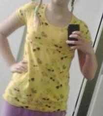 žluté Tričko Takko Fashion