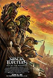 age mutant ninja turtles out of the shadows poster