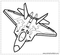 Small Picture Fighter Jet Coloring Page Printables for Kids free word search