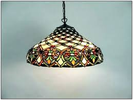stained glass chandelier for medium size of floor lamp with pendant shades parts unique sty style a