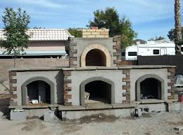 outdoor fireplace kits with pizza oven outdoor stone pizza oven outdoor
