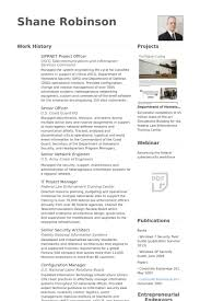 Siprnet Project Officer Resume samples