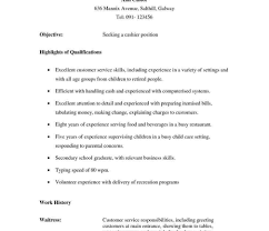 Resume Templates Waitress Cv Sample Pdf Examples Example Uk