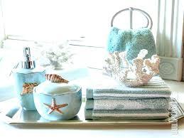 seashell bath rugs coastal beach themed bathroom bathrooms design rug set decorative towels soap