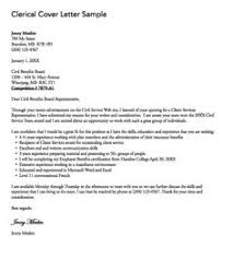 clerical cover letter sample httpexampleresumecvorgclerical cover clerical cover letter samples