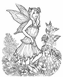 Fairy Coloring Pages For Adults 14 30639