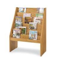 newspaper rack 1. Exellent Rack Gaylord Classic Periodical Rack 110000 On Newspaper 1