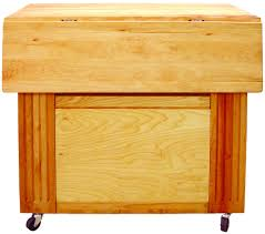 catskill craftsmen heart of the kitchen rolling cart drop le