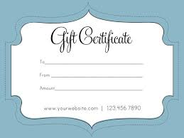 Photography Gift Certificate Template Free Printable Photography Gift Certificate Template Blank