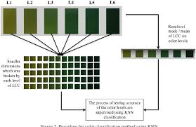Fall Leaf Color Chart Pdf Assessment Of Color Levels In Leaf Color Chart Using