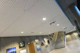 plaster suspended ceiling tile acoustic perforated