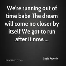 Running Dream Quotes