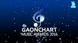 6th Gaon Chart Music Awards 2017 Download Show 170222 Naver V 6th Gaon Chart K Pop Awards