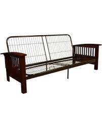 Winter's Hottest Sales on Morris Mission-Style Futon Sofa Sleeper ...