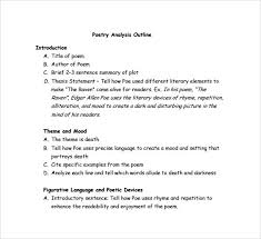 essay poems rhetorical essay outline