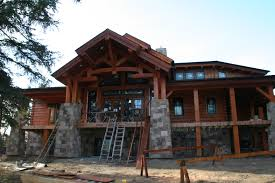 garage pretty contemporary log home plans 6 timber frame homes archives of the floor interiors rustic