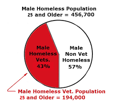Chart Homeless Vets Vs Homeless Non Vets Oldtimer4267