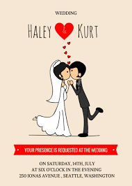 Couple Template Couple Wedding Invitation Templates