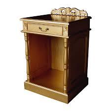 Hotel Fridge Cabinet Gold Rococo Bedroom 165 00