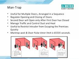 matrix security solutions cosec access control and time attendance man trap