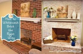 painted brick fireplace before and after best paint whitewash brick fine best paint whitewash brick how