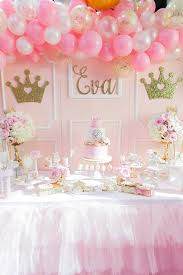 Princess Ball Decorations Magnificent Pink And Gold Princess Birthday Party Pretty My Party