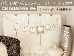 Anthropologie Challenge Day 6 Alphabet Free Banner Printable