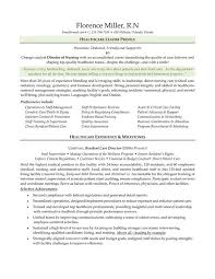 Director Of Nursing Resume Magnificent Oncology Nurse Resume Example Httpwwwresumecareer