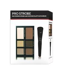 freedom makeup london pro powder strobe palette with brush revolutionbeauty