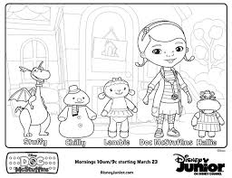 Small Picture Simple Doc Mcstuffins Coloring Book Coloring Page and Coloring