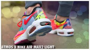 Nike X Atmos Air Max2 Light Atmos X Nike Air Max2 Light Detailed Look And Review