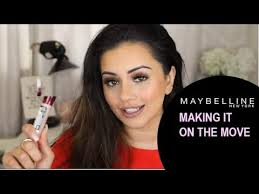 maybelline making it on the move kaushal beauty concealer hacks