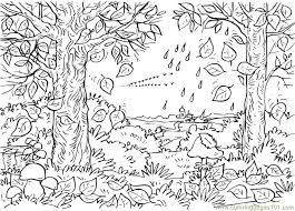 Small Picture Autumn Tree coloring page Free Printable Coloring Pages