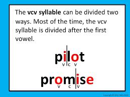 Vcv Pattern Interesting Decoding Lesson 48 VCV And VCCV Syllable Pattern Ppt Video Online