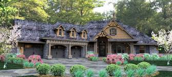 House Plan at FamilyHomePlans comCottage Country Craftsman Traditional Tuscan House Plan Elevation