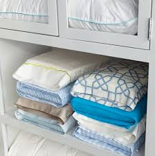 pillow storage. 50 genius storage ideas ~ tuck your matching sheet sets inside one of it\u0027s own pillow o