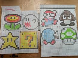 8 Bit Characters Graph Paper Google Search Cross Stitch