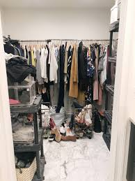 the dimensions of our closet are 7 11 aross the back wall x 6 7 1 4 on either side here s what we came up with