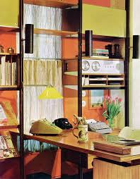 mid century modern home office. home office from practical encyclopedia of good decorating and improvement mid century modern