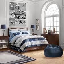 ... Preston Plaid Beadboard Bedroom ...