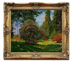 img alibaba com wsphoto v0 506693477 6431 free wooden oil painting frames il parco monceau 1876 monet landscape art 20x24 jpg