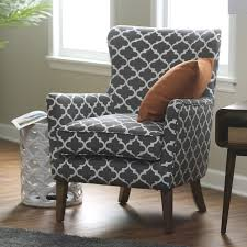 Printed Chairs Living Room Belham Living Palmer Printed Arm Chair Accent Chairs At Hayneedle