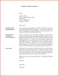 Letter Of Intent For Job Template Examples Letter Templates