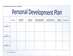personal development plans sample personal development plan resumess zigy co