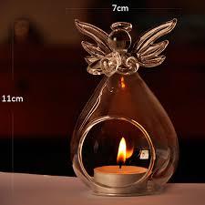 hanging round bubble glass terrarium air plant tea light bar candle iron holder