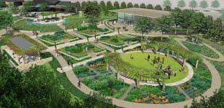 a tasteful place will be available for weddings and private events rendering courtesy of the dallas arboretum