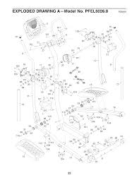 Proform 510 ex elliptical power cord with proform 600 n elliptical parts ideas pfel60260 page 1