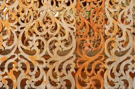 Wood Carving Patterns Best Thai Style Wood Carving Patterns Stock Photo Picture And Royalty